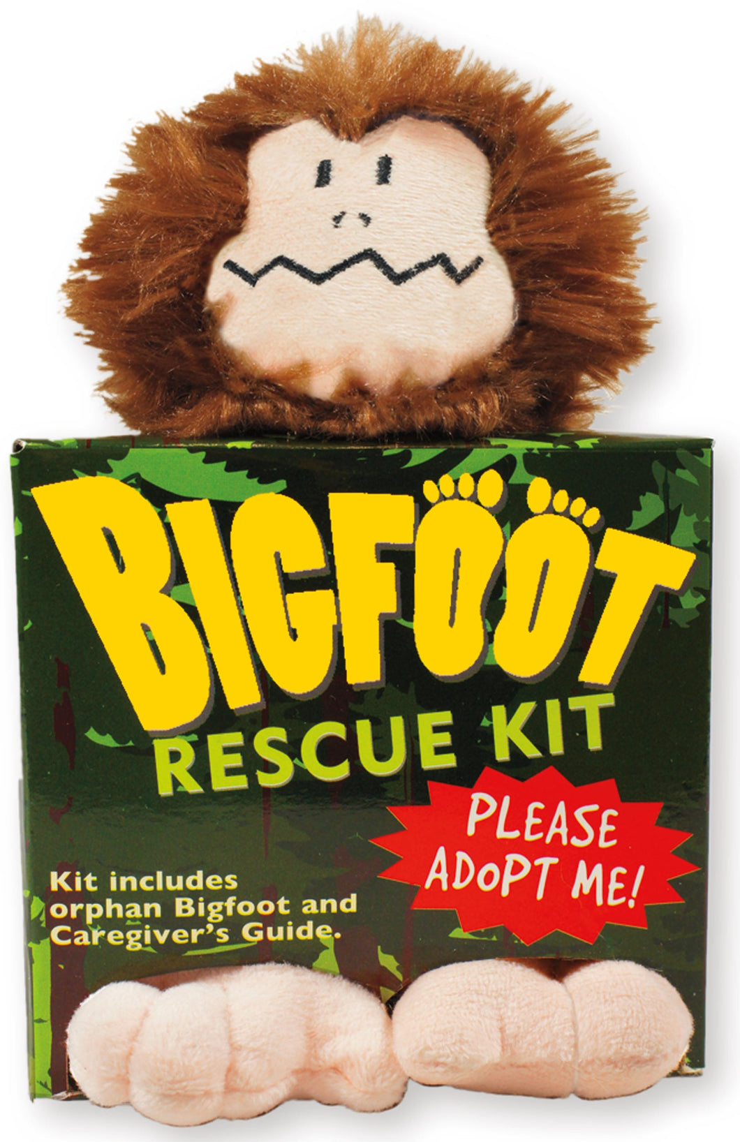 Peter Pauper Press Bigfoot Rescue Kit Kit