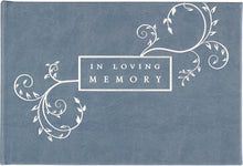 "Load image into Gallery viewer, Peter Pauper Press ""In loving memory"" guest book"