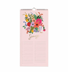 Rifle Paper Co. Celebrations (Birthdays/Anniversaries) Wall Calendar