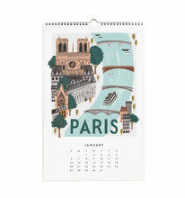 Load image into Gallery viewer, Rifle Paper Co. World Traveler 2019 Calendar