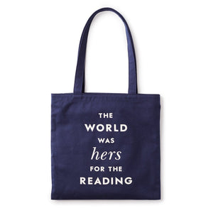 Kate Spade Hers For The Reading Canvas Tote