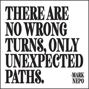 Quotable Unexpected Paths Magnet