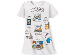 Relevant Products A Cat Lover Sleep Shirt with Gift Bag
