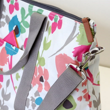 Load image into Gallery viewer, Caroline Gardner Ditsy Meadow Foldable Weekend Bag