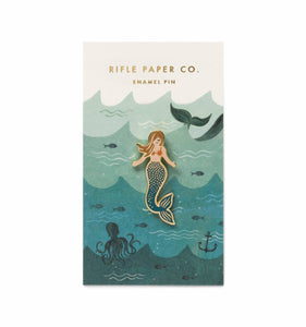 Rifle Paper Co. Mermaid Everyday Enamel Pin