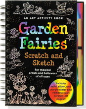 Load image into Gallery viewer, Peter Pauper Press Trace - Along Scratch and Sketch Garden Fairies