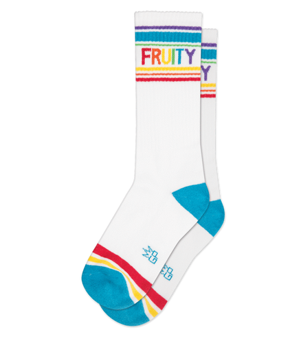 Gumball Poodle Fruity Gym Socks