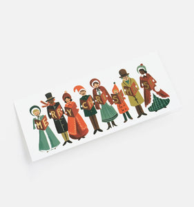 Rifle Paper Co. Carolers Christmas Holiday Cards - Petals and Postings