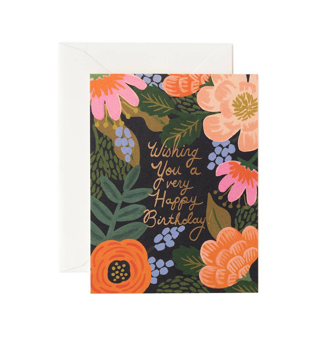 Rifle Paper Co. Bordeaux Birthday Cards