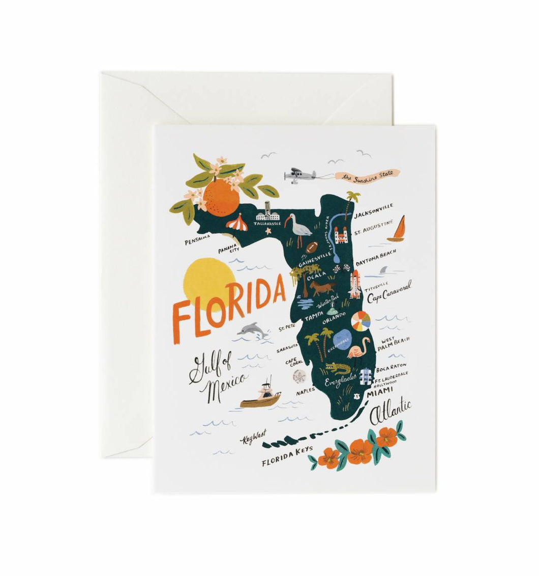 Rifle Paper Co. Florida Greeting Card