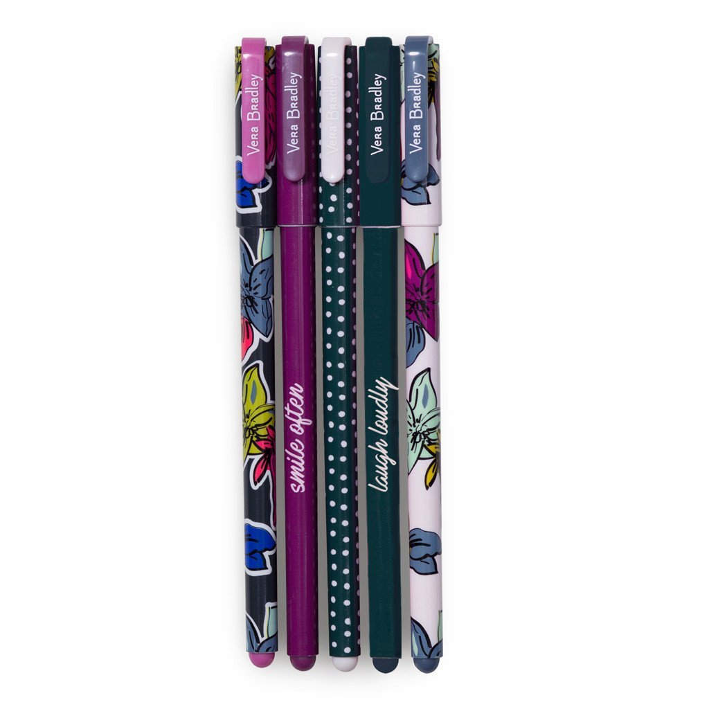 Vera Bradley Falling Flowers Gel Pen Set