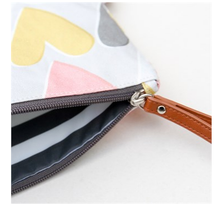 Load image into Gallery viewer, Caroline Gardner Layered Hearts Clutch Bag