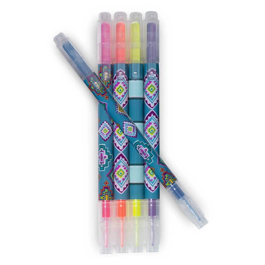 Vera Bradley Painted Medallion Highlighter Set