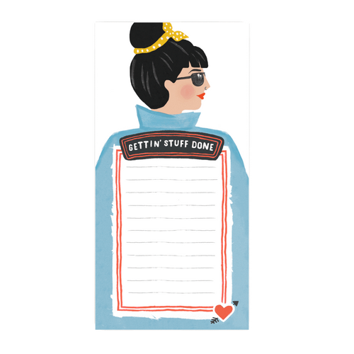 Jade Fisher Gettin' Stuff Done Illustrated Notepad