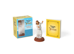 Running Press Dancing with Jesus Bobbling Figurine