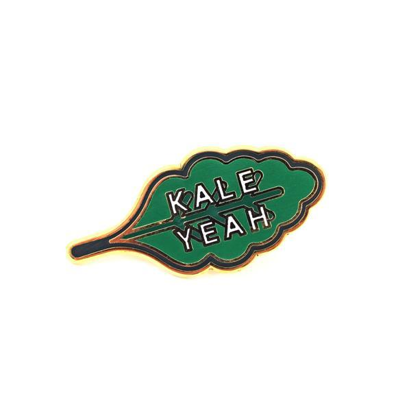 Valley Cruise Press Kale Yeah Pin