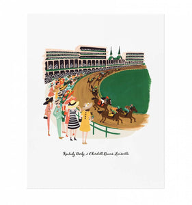 Rifle Paper Co. Kentucky Derby Art Print