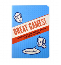 Load image into Gallery viewer, The Unemployed Philosopher's Guild Great Games! Notebook