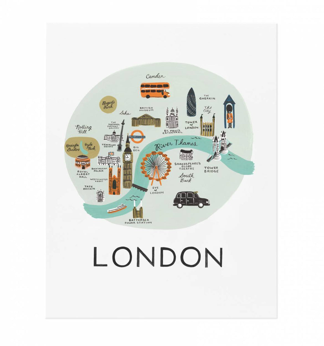 London Art Large Print Rifle Paper Co.