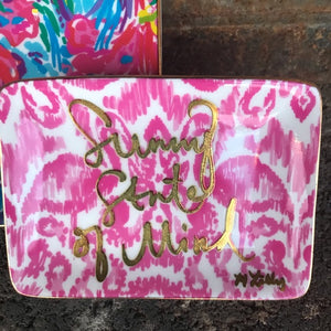 Lilly Pulitzer Trinket Tray Set
