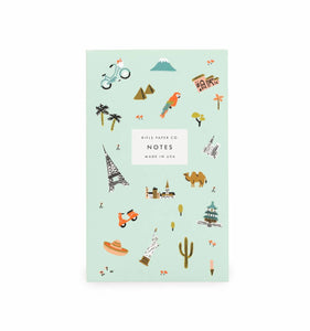 Rifle Paper Co. Wanderlust Pocket Notepad
