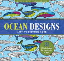 Load image into Gallery viewer, Peter Pauper Press Ocean Designs Coloring Book