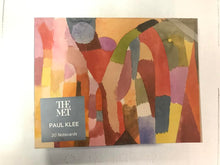 Load image into Gallery viewer, Met Museum Paul Klee Notecards