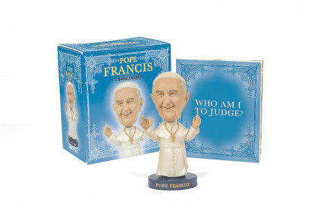 Running Press Pope Francis Bobblehead