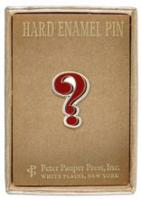 Load image into Gallery viewer, Peter Pauper Press Question Mark Enamel Pin