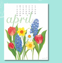 Load image into Gallery viewer, Art for Everyday - 2018 Flowers Calendar