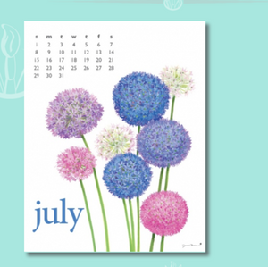 Art for Everyday - 2018 Flowers Calendar
