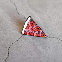 Load image into Gallery viewer, Dainty Daisy Pizza Flair Pin - Petals and Postings