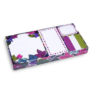 Vera Bradley Falling Flowers Sticky Note Set