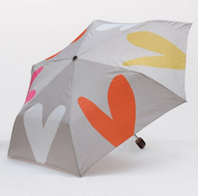 Load image into Gallery viewer, Caroline Gardner Layered Hearts Folding Umbrella