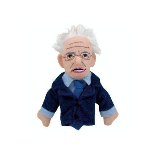 Bernie Sanders Finger Puppet and Fridge Magnet