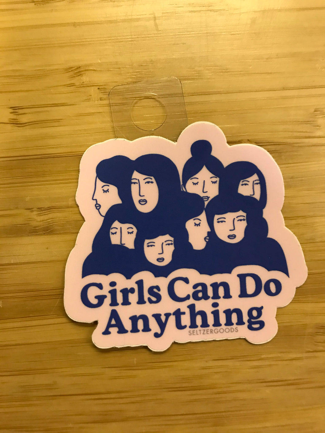 Seltzer Girls Can Do Anything Sticker