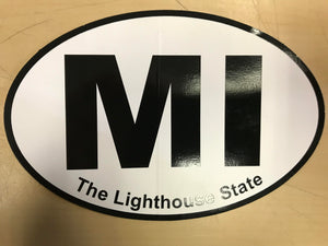 Penrod Lighthouse State Sticker