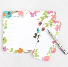 Load image into Gallery viewer, Caroline Gardner Modern Ditsy Weekly Desk Planner
