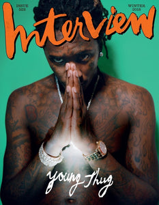 Interview Magazine with Young Thug