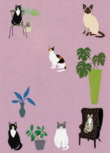 Load image into Gallery viewer, Roger la Borde Cat Palais Letter Set
