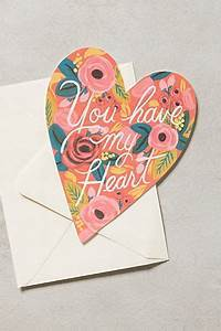 "Rifle Paper Co. ""You Have my Heart"" Card"