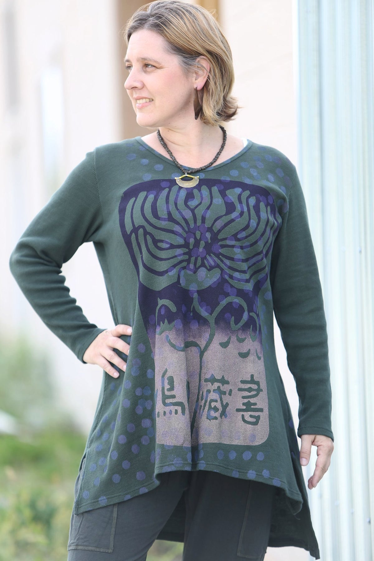 2293 Thermal Voyages Tunic Sequoia-P
