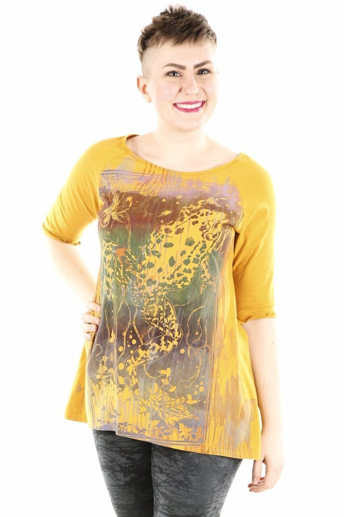 2139 Blessing Top Marigold-P