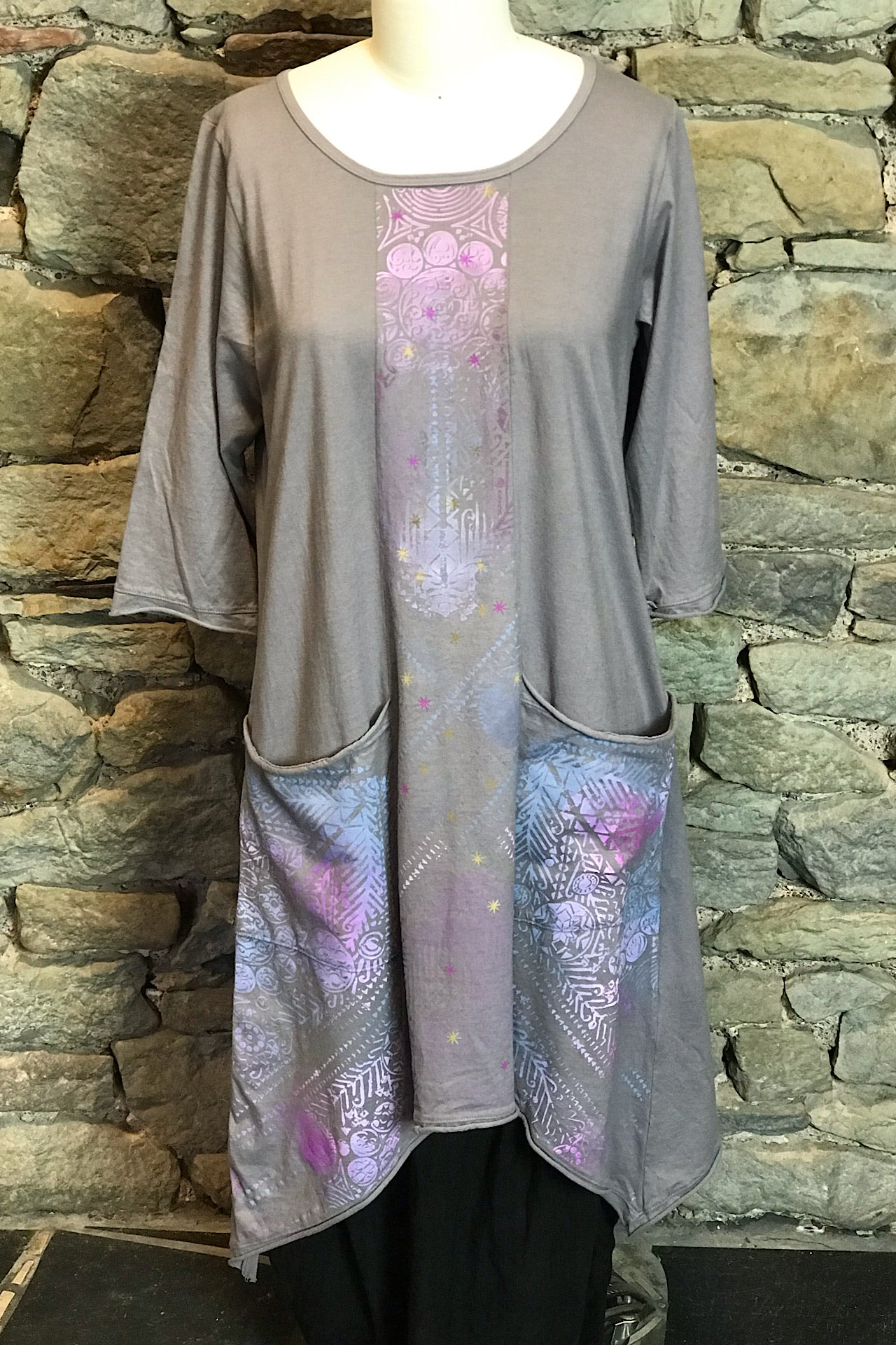 Sunny Day Violette Dusk Printed Tunic