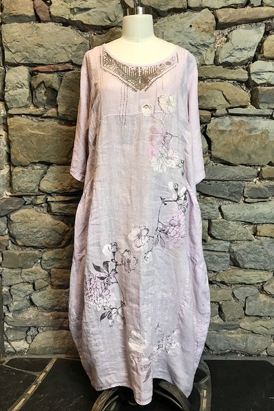 Magnolia Soft Pink Linen Dress