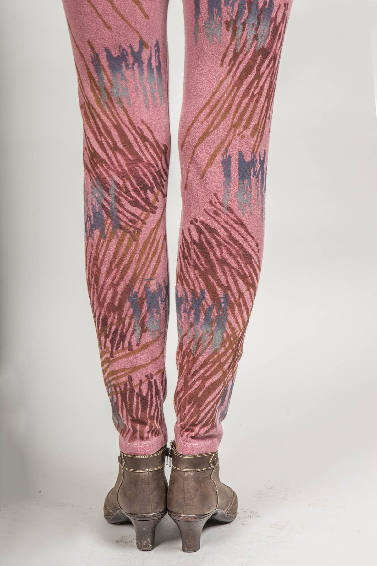 Antique Red Distressed BF Legging Printed WAS $148 NOW $98