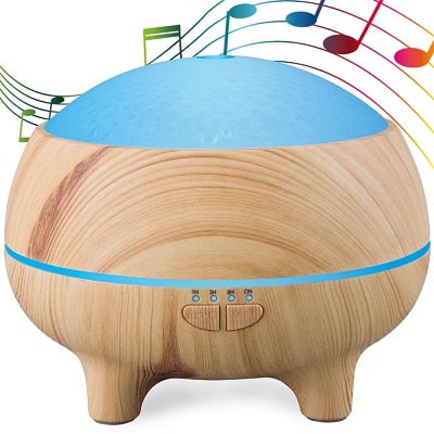 Aroma Diffuser - 300ml (Muselia) - Bluetooth Speaker
