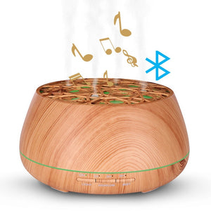 Aroma Diffuser - 400ml (Ruselia) - Bluetooth Speaker