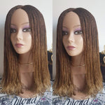 Million Braids (Ombre Light Brown)
