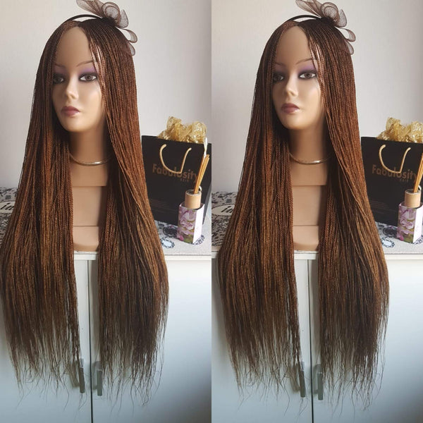 Million Braids (Light Brown)